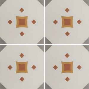 CARREAUX DE CIMENT Vendus par boite de 12 carreaux ref 1120-1