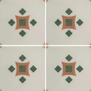CARREAUX DE CIMENT Vendus par boite de 12 carreaux ref 1120-3