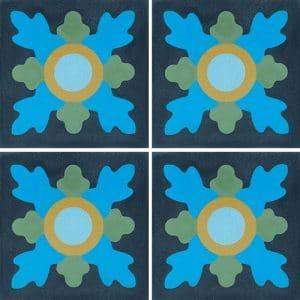 CARREAUX DE CIMENT Vendus par boite de 48 carreaux ref 6500-5