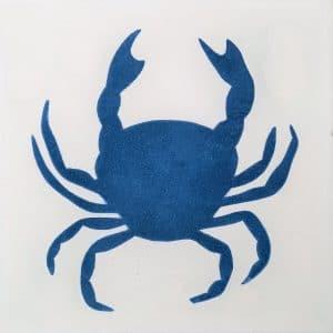 CARREAUX DE CIMENT Vendus par boite de 13 carreaux ref 2740-1CGS Crabe
