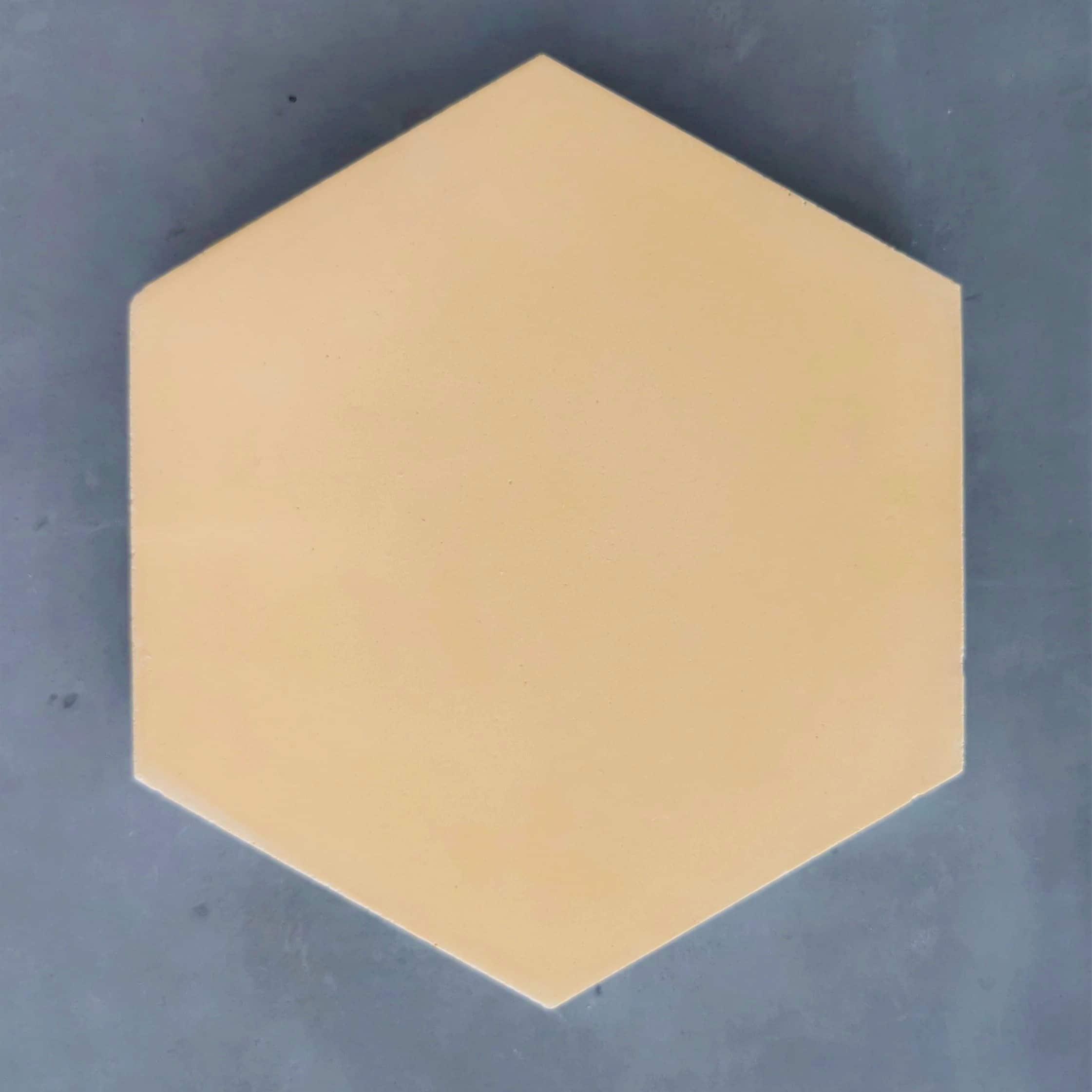 La Boite Jaune Prix prix de la boite de 12 carreaux hexagone jaune clair 8520dt